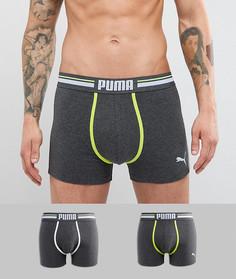 2-цветные боксеры колор блок Puma - Синий