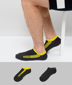 Комплект из 2 пар носков для кроссовок Puma - Черный