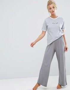 Длинная пижама Adolescent Sweet Dreams - Серый