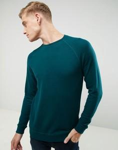 Свитшот с рукавами реглан Esprit - Зеленый