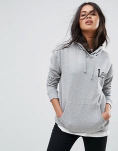 Худи с логотипом Lee - Серый