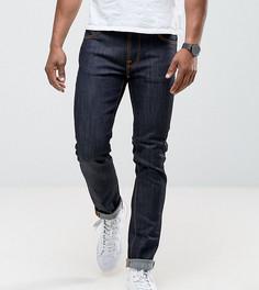 Джинсы слим из сухого органического денима Nudie Jeans TALL - Синий