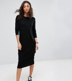 Платье миди ASOS TALL - Черный