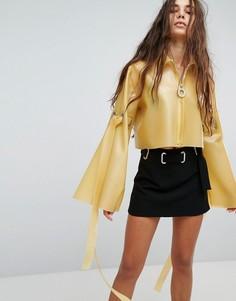Куртка с широкими рукавами Hanger - Желтый