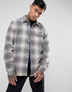 Рубашка в клетку Dickies Ivyland - Серый