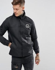 Черная спортивная куртка с капюшоном Hype - Черный