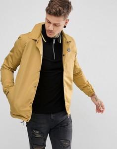 Спортивная куртка горчичного цвета Hype - Желтый