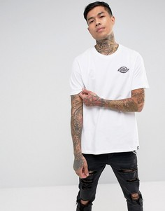 Белая футболка с логотипом Dickies - Белый