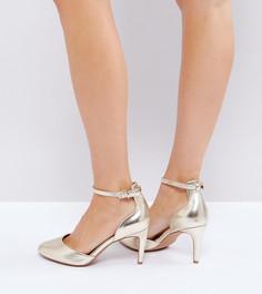 Туфли на каблуке ASOS SWALLOW - Золотой