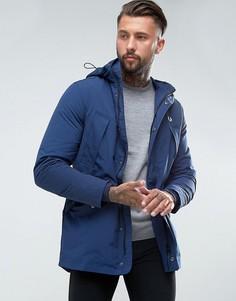 Темно-синяя куртка с капюшоном Fred Perry Portwood - Темно-синий
