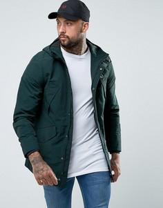 Зеленая куртка с капюшоном Fred Perry Portwood - Зеленый
