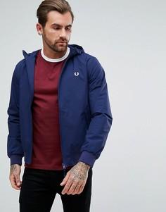 Синяя куртка с капюшоном Fred Perry Brentham - Синий