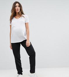 Узкие брюки Mamalicious - Черный Mama.Licious