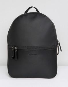 Черный кожаный рюкзак Smith And Canova - Черный