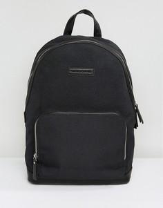 Рюкзак из нейлона и кожи Smith And Canova - Черный