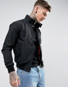 Черная куртка Харрингтон Fred Perry REISSUES - Черный