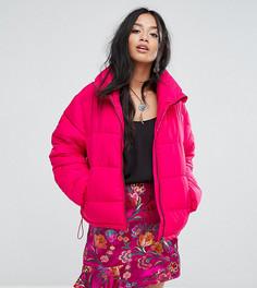 Дутая куртка Glamorous Petite - Розовый