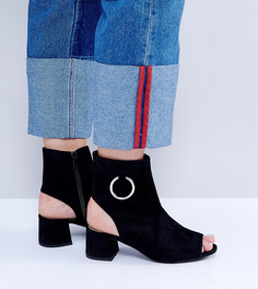 Ботинки с вырезами Public Desire Space - Черный