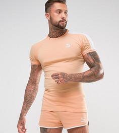 Оранжевая облегающая футболка с логотипом Puma T7 эксклюзивно для ASOS 57700215 - Оранжевый