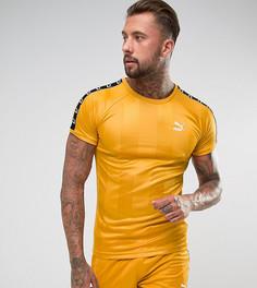 Желтая футболка в стиле ретро Puma эксклюзивно для ASOS 57657801 - Желтый