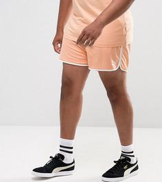 Оранжевые шорты в стиле ретро Puma PLUS эксклюзивно для ASOS 57590107 - Оранжевый