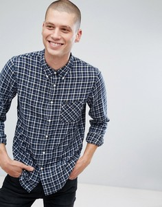 Клетчатая рубашка на пуговицах Lee Jeans - Синий
