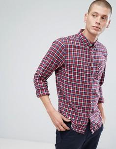 Клетчатая рубашка на пуговицах Lee Jeans - Красный