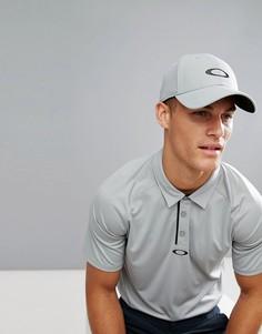 Серая бейсболка с логотипом Oakley Golf Ellipse - Серый
