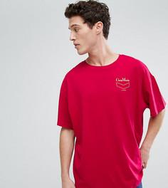 Красная футболка Cheap Monday Squad - Красный