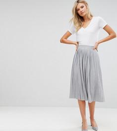 Плиссированная юбка миди Vero Moda Tall - Мульти