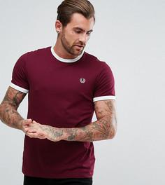 Фиолетовая узкая футболка Fred Perry Sports Authentic - Фиолетовый