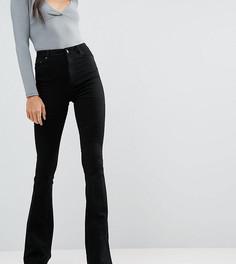 Черные расклешенные джинсы ASOS TALL - Черный