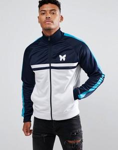 Темно-синяя спортивная куртка с белыми вставками Good For Nothing - Темно-синий