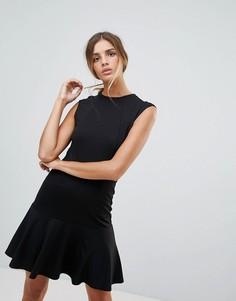 Платье со вставками Y.A.S Cirano - Черный