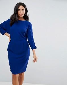 Платье с запахом Y.A.S Cecca - Синий