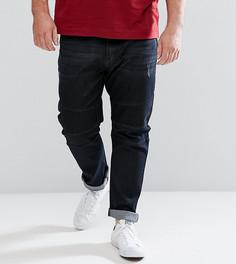 Черные байкерские джинсы Duke PLUS - Черный