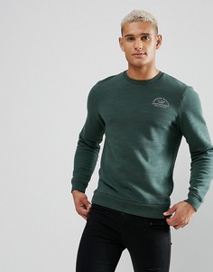 Зеленый свитшот Jack Wills Hatton - Зеленый