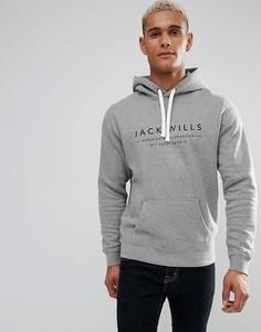 Худи серого цвета Jack Wills Batsford - Серый