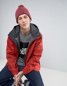 Красная шапка-бини с помпоном и узором Фэйр-Айл The North Face - Красный