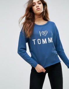 Свитер Tommy Hilfiger Denim - Синий