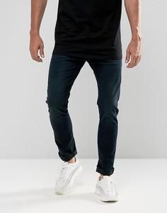Синие джинсы скинни Lee Luke - Синий