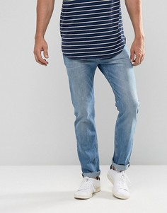 Светлые джинсы слим Lee Rider - Синий