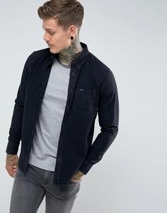 Черная джинсовая рубашка на пуговицах Lee - Черный