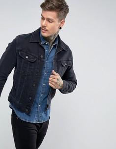 Черно-синяя куртка Lee Rider - Темно-синий