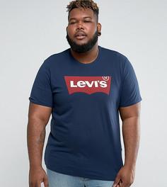Темно-синяя футболка Levis PLUS - Темно-синий Levis®