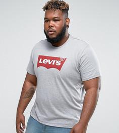 Серая футболка Levis PLUS - Серый Levis®