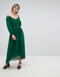Платье Essentiel Antwerp Oignons - Зеленый