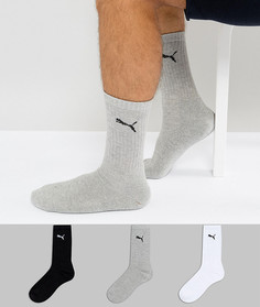 3 пары разноцветных носков Puma 7312325 - Мульти