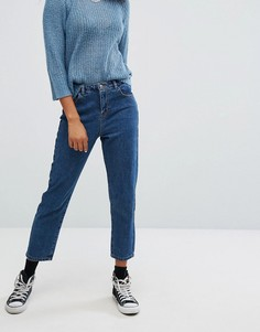 Укороченные джинсы Noisy May - Синий
