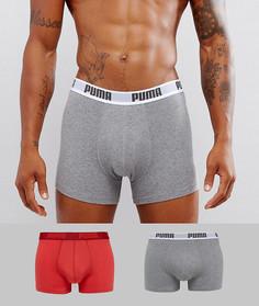 Комплект из 2 боксерских шорт Puma - Мульти